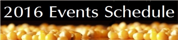 2016 Events Schedule